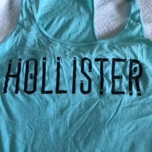 Hollister blue tank